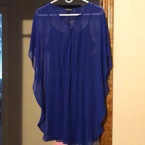 Express caftan dress